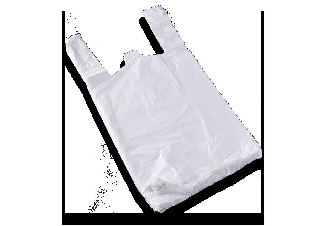 Bolsas de plástico tipo camiseta